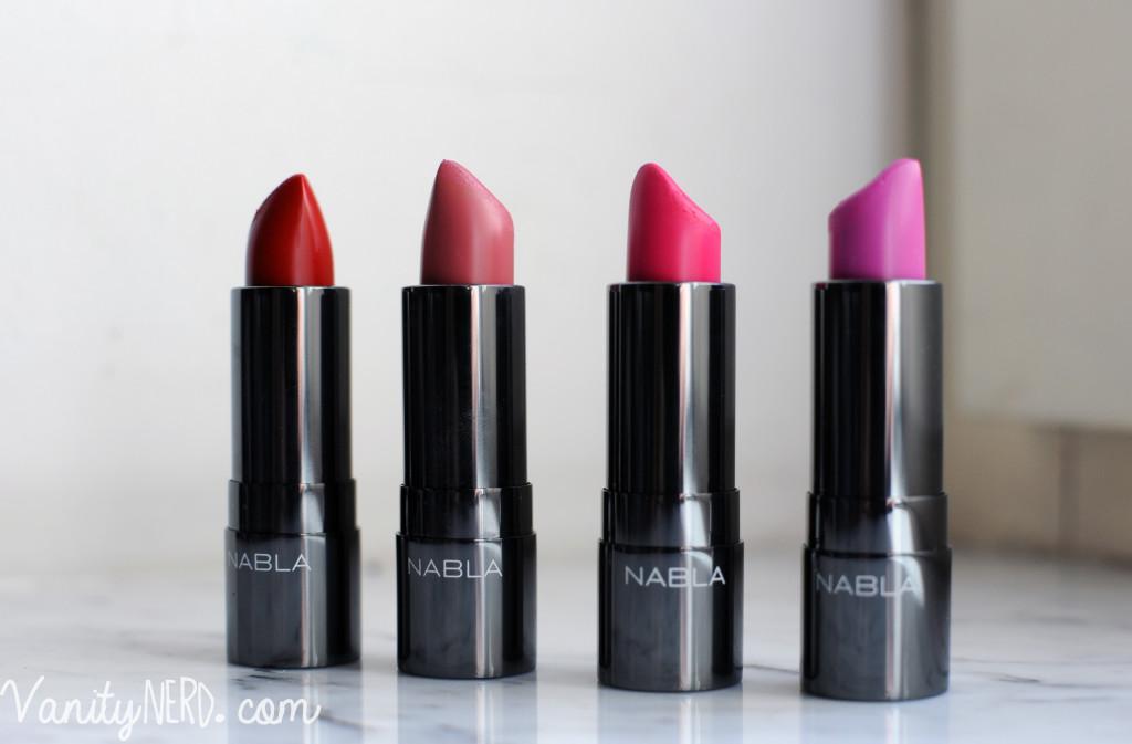 Nabla cosmetics rossetti diva crime swatches e comparazioni - Diva crime closer ...