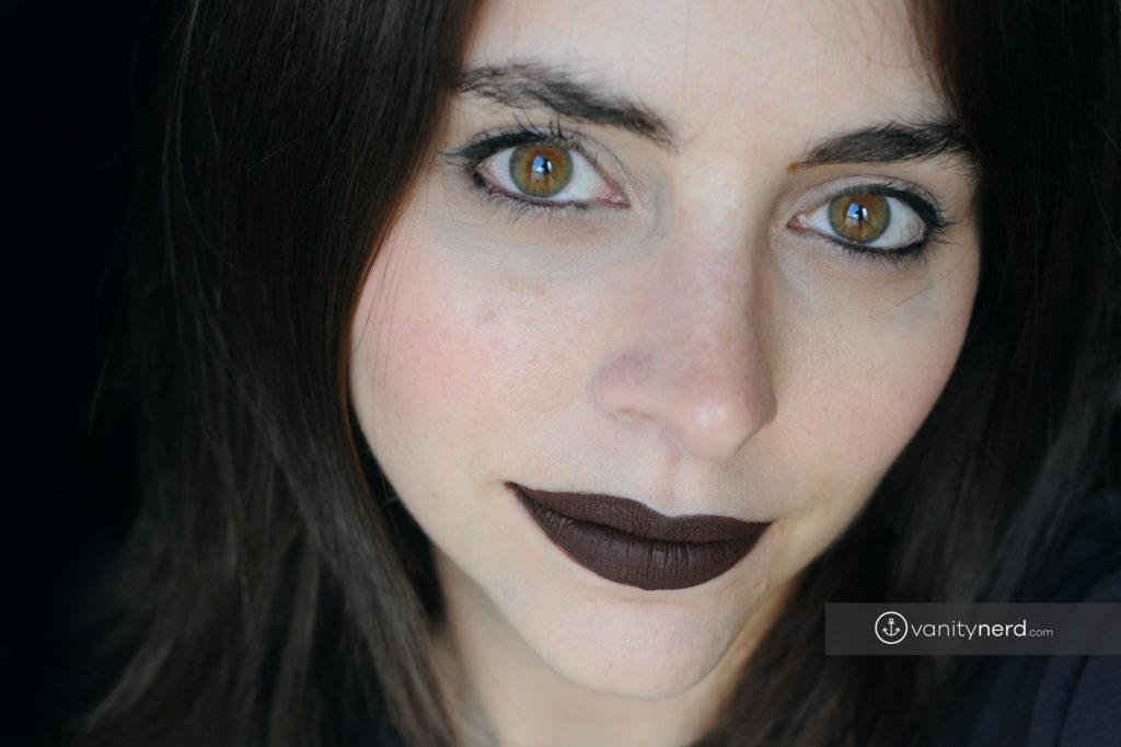 Dreamy matte liquid lipstick di nabla swatch - Diva crime closer ...