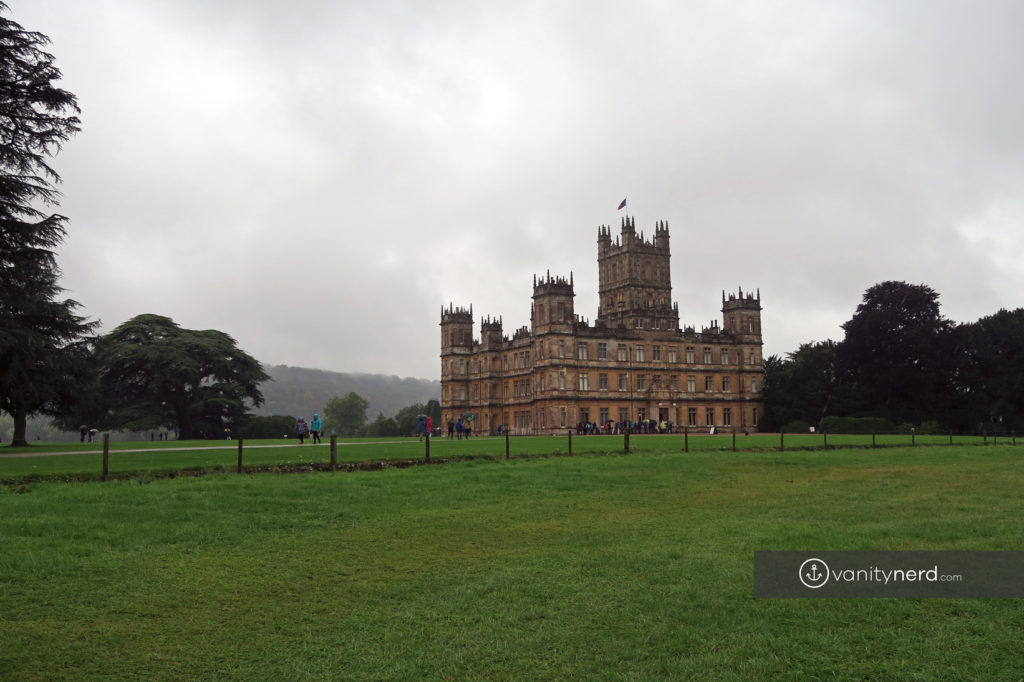 downton abbey highclare castle