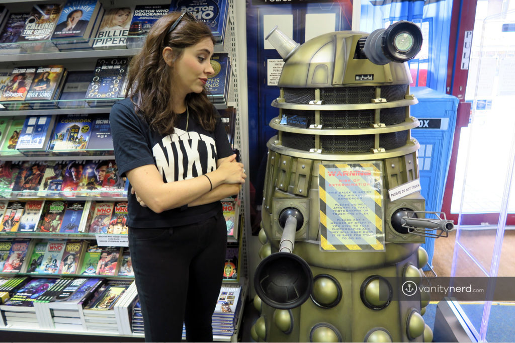Londra The Who Shop Dalek