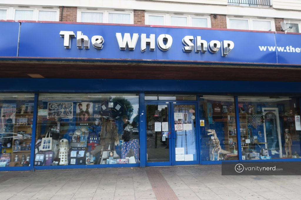 The WHO Shop Londra